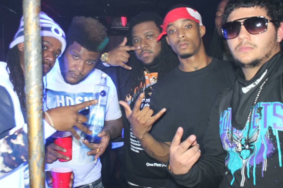 JCE Brick Squad Show Chris Gates,Rich Gates,D Dash,Lil Kyle photo